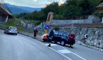 Incidente d'auto a Ormea: conducente all'ospedale