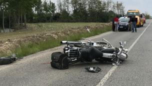 Incidente mortale a Beinette, la vittima è un motociclista fossanese