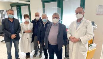 """Paolo Bongioanni (FdI), sopralluogo all'ospedale di Mondovì: """"Medici e personale sanitario encomiabili, ripaghiamoli dicendo sì al vaccino"""""""