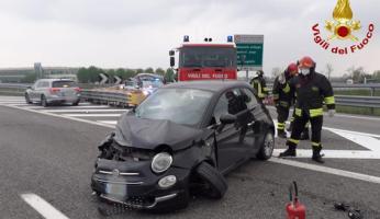 Incidente sulla A6 Torino Savona: quattro feriti, due auto coinvolte
