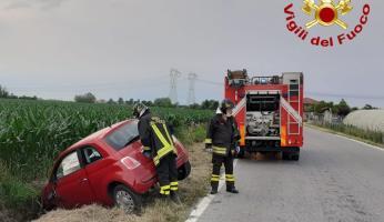 Morozzo: giovane ferita dopo incidente stradale verso Castelletto