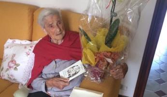 Garessio: la festa per i 103 anni di nonna Antonia
