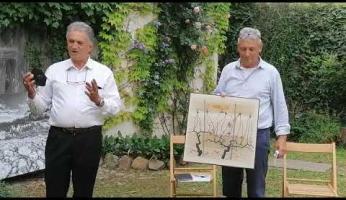 VIDEO - L'associazione Angelo Ruga consegna all'amministrazione un'opera dell'artista che abitò a Clavesana