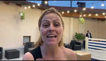 """VIDEO - Concluso l'AmiCorti Film Festival, Ntrita Rossi: """"Ringrazio i peveragnesi, non mi hanno fatto sentire sola"""""""