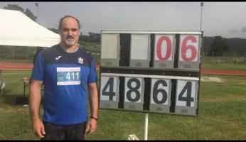 Record italiano paralimpico per il discobolo Lorenzo Tonetto