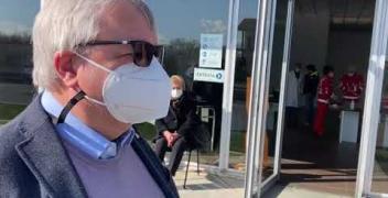 VIDEO, Nel punto vaccinale di Mondovì con Enrico Ferreri, direttore del distretto sud-est dell'Asl Cn1